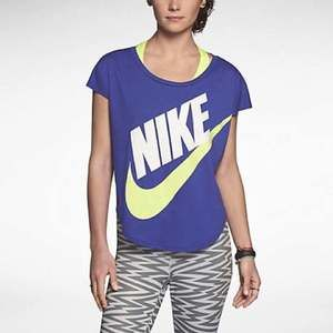 Nike Signal Tee Deep Night/Volt Large